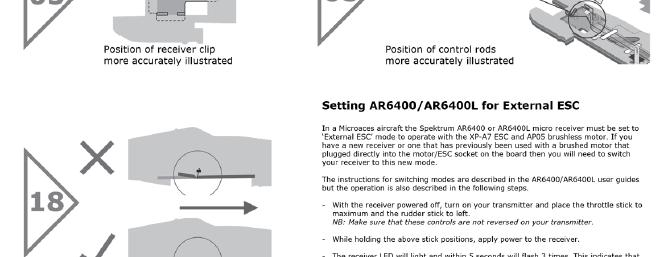 This online addendum clarifies how the pushrods should be installed.