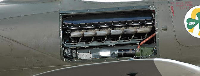 This shot of the engine bay of <i>Brooklyn Bum - 2nd</i> clearly shows the innovative mid-engine layout.  (Photo:  Wikimedia Commons)