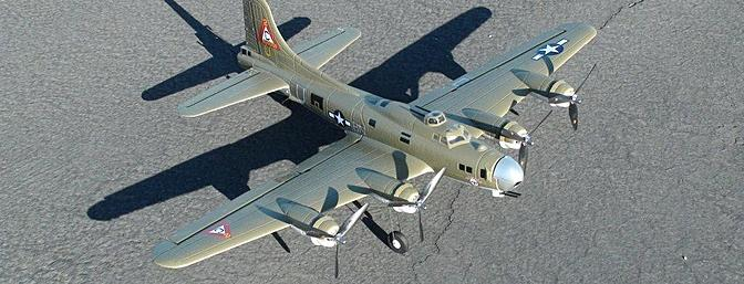 HobbyKing Mini B-17G BNF Review