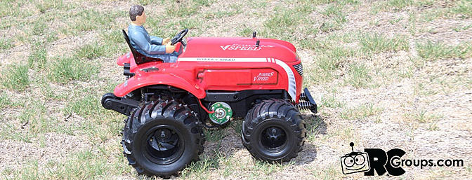 WLtoys P949 1/10 Scale RTR Tractor from Tmart.com