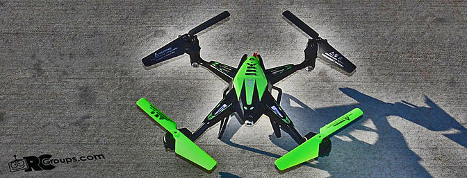 Bojiang S1 RTF Quadcopter from Lightake.com Review