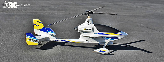 HobbyKing Super-G PNF Autogyro Review, Part One