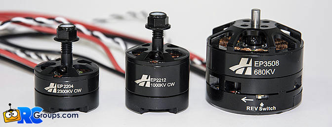 Hitec Energy Propel Systems 2212/20 Multirotor Motors - RCGroups Review