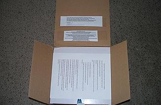 Just inside that box are clear instructions, facts and warnings customary to Park RC Models.