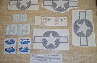 It's hard to ascertain just how nice these decals really are when viewed through the cover sheets, but trust me when I say they look terrific when applied.  Read on.