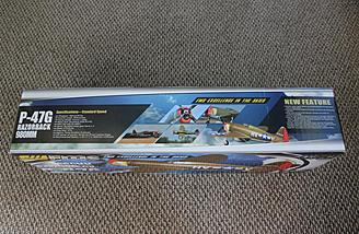 Details about the model abound on the side of the box.