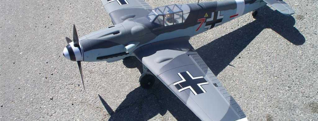 Dynam RC Messerschmitt BF-109 RTF from Nitroplanes.com