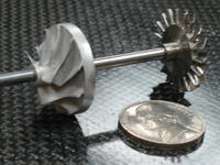 Name: Submicro_Turbojet_Compressor_Shaft_Wheel_Assembly.jpg