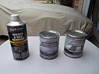 Name: Duplicolor Cleaner, Primer, Clear Coat.jpg Views: 81 Size: 174.1 KB Description: Duplicolor surface cleaner, primer and clear coat.