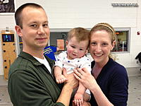 Name: IMG_0208R.jpg Views: 22 Size: 137.0 KB Description: Chris and his wife Heather and their new pride and joy!