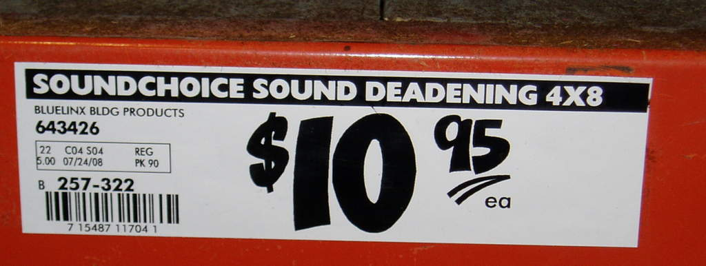 Attachment browser: Home Depot Sound Board Tag Number 1.jpg by brucea - RC Groups