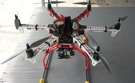 DJI FlameWheel 550 FPV Setup BNF
