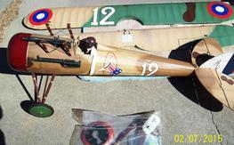 BUSA Nieuport 28, 1/4 SCALE