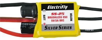 ElectriFly Silver Series 25amp ESC.