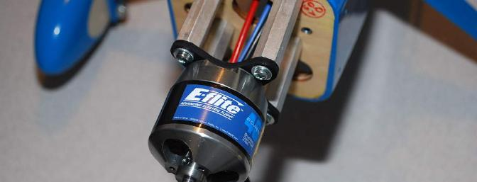 The Power 46 brushless motor provided <b>ample</b> power.