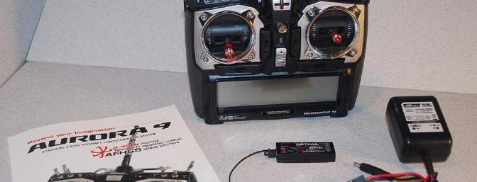 This is a complete radio system with receiver, charger, manual and transmitter.