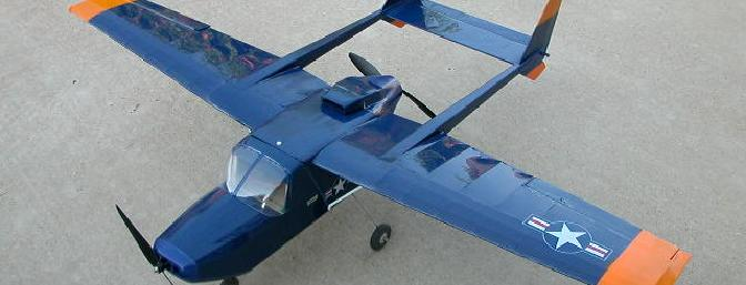 ParkScale Models O-2 Twin.