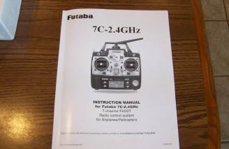 The Futaba 7C manual