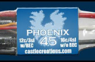 Castle Creations 45amp Phoenix ESC