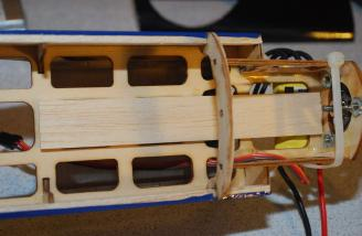 The solid balsa tray I added