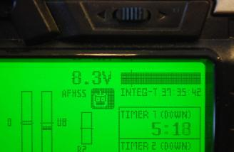 Here you see the new LiPo voltage levels.
