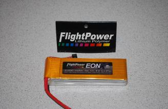 The FlightPower EON 30c 3350 pack.