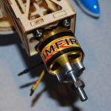 The powerful Rimfire .32 brushless 42-50-800 brushless motor.