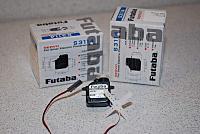 <font size=-2>Futaba S3114 micro high torque servos</font>