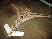 Name: IMG_1285.JPG Views: 4 Size: 984.7 KB Description: But, with a 10% scale, the canard chord would be very small, so I'm cheating and building with a broader canard.