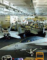 Name: hangar bay of the USS George H. W. Bush.jpg Views: 21 Size: 120.0 KB Description: hangar bay of the USS George H. W. Bush