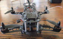 BAH 250 mini ARF with FPV