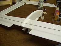 Name: 100_5277.jpg Views: 868 Size: 60.5 KB Description: Wing mounted and ready to add the canard.
