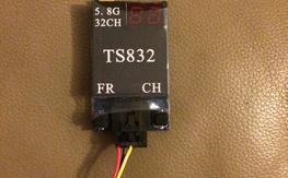 TS832 600mW 5.8GHz transmitter