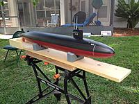 Name: 172nd scale USS Pollack.jpg