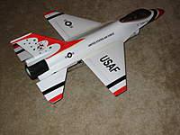 Name: Dynam F-16 001.jpg Views: 658 Size: 84.8 KB Description: Ready t o fly. A pretty good looking model I think.