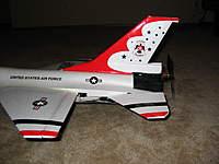 Name: Dynam F-16 003.jpg Views: 327 Size: 69.1 KB Description: Stick mount and motor installed.