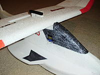 Name: PB240286.jpg Views: 453 Size: 136.1 KB Description: Wing glued on then motor stick glued on.