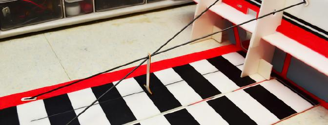 The Carbon Fiber Wing Struts Installed