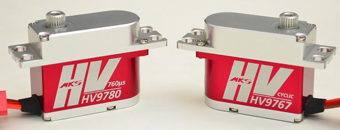 Review MKS Servos HV9767 & HV9780 High Voltage Mini Servos
