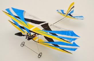 Assembled Biplane
