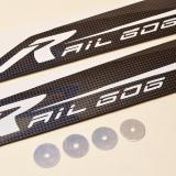The Rail Blades 606 mains with included spacers