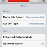 Motor idle speed, cut off type, & enhanced failsafe.