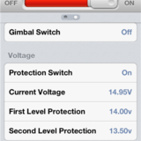 Voltage settings.