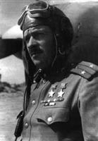 Name: 03 pokryshev_2.jpg Views: 172 Size: 15.3 KB Description: Petr Pokryshev, the man who shot Bremer down. Pokryshev was at that time a 31-kill ace with the VVS and had been awarded the Golden Star of Hero of the Soviet Union and the Order of Lenin. He survived the war with a total of 38 personal and 8 shared kills