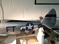 Name: 6.jpg Views: 163 Size: 154.8 KB Description: All that is left on the fuselage now in terms of decoration is stencils, and painting the top part under the canopy green