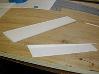 Name: dc9_023.jpg Views: 263 Size: 164.2 KB Description: Flaps and ailerons fast and simple.  Should have added wooden control horn contact points.  Next time.