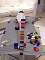 Name: asw-28 054.jpg Views: 1543 Size: 78.0 KB Description: Let Lego jig shows just how far from vertical the fin is