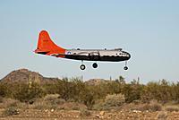 Name: Barretts B-29 Kee Bird Maiden 1-5-14 080.jpg Views: 161 Size: 56.6 KB Description: Final approach.