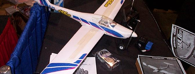 456mb displayed several ARF models, including their Hana RTF. Sorry, can't locate a website. Photo courtesy of Steve Horney.