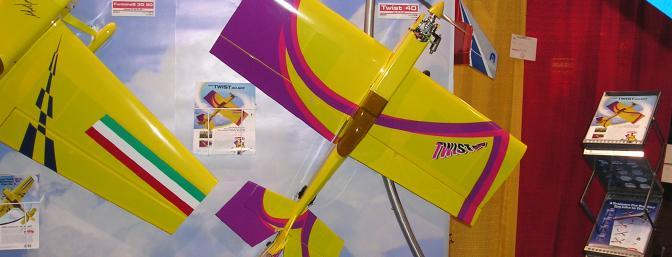 The new Twist ARF sports a